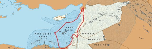 Gas nel mediterraneo