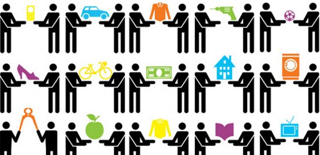 """""""La sharing economy"""" di Mario A. Maggioni"""