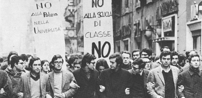 """""""Che cosa resta del '68"""" di Paolo Pombeni"""