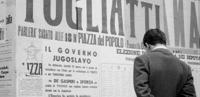 """""""1948. Gli italiani nell'anno della svolta"""" di M. Avagliano e M. Palmieri"""