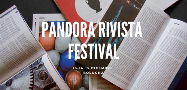Pensare l'Italia - Pandora Rivista Festival