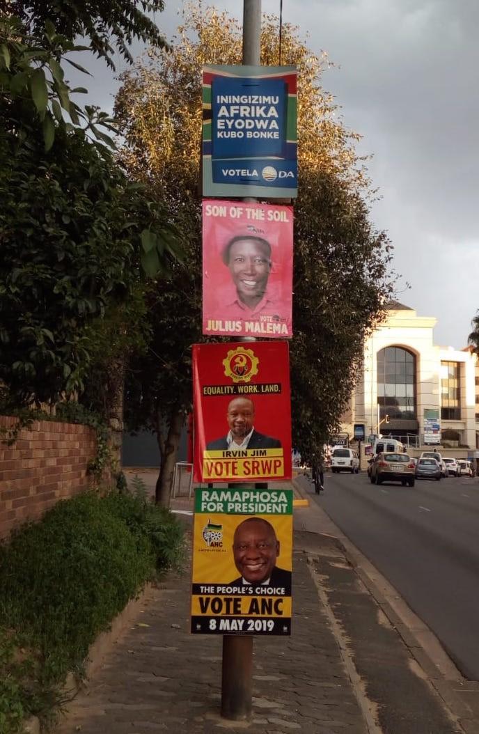 Sud Africa elezioni