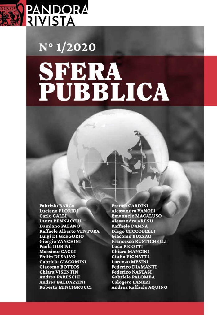 Numero 1/2020 – Sfera pubblica