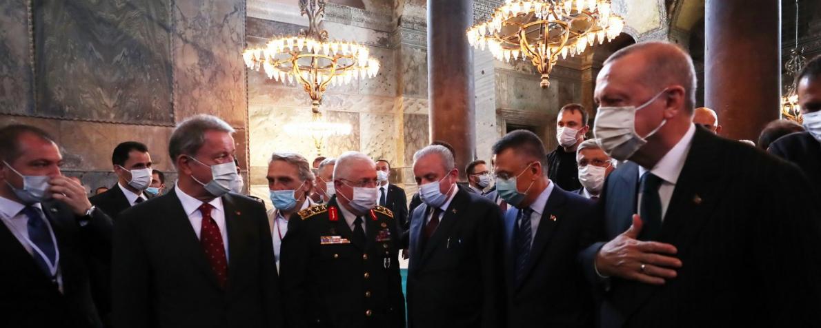 Erdoğan e la gestione della pandemia