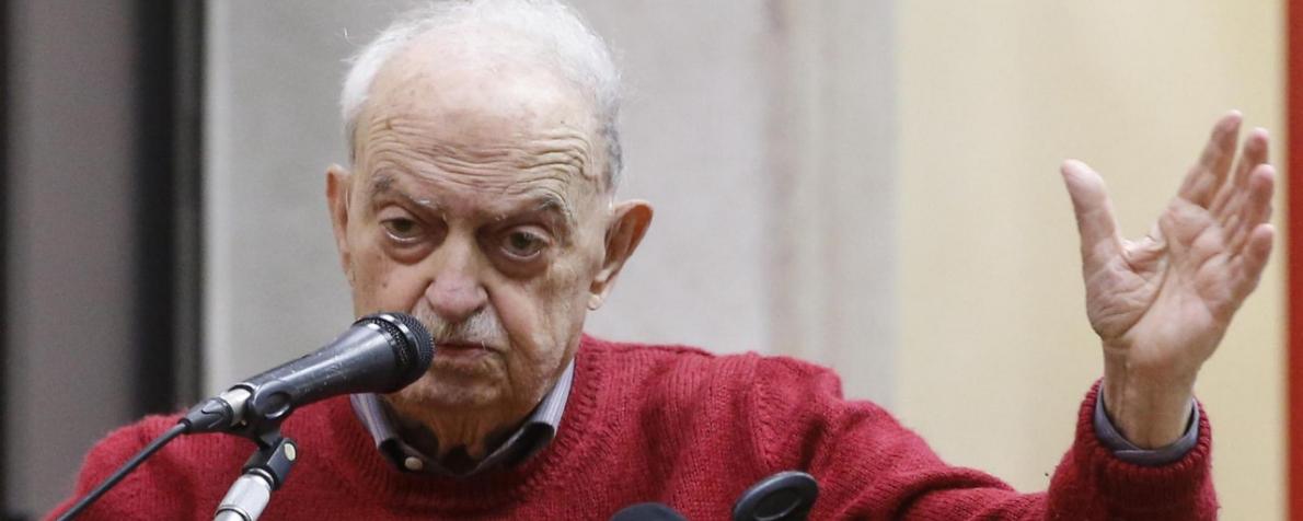 Una vita nella storia della democrazia italiana. Intervista a Emanuele Macaluso