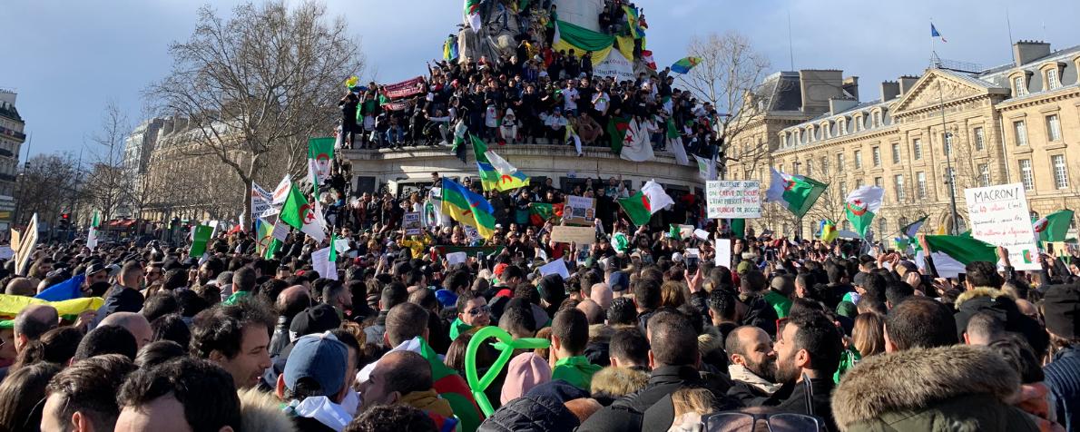 Fare Hirak in Europa. Il ruolo delle comunità algerine a nord del Mediterraneo nelle proteste in Algeria