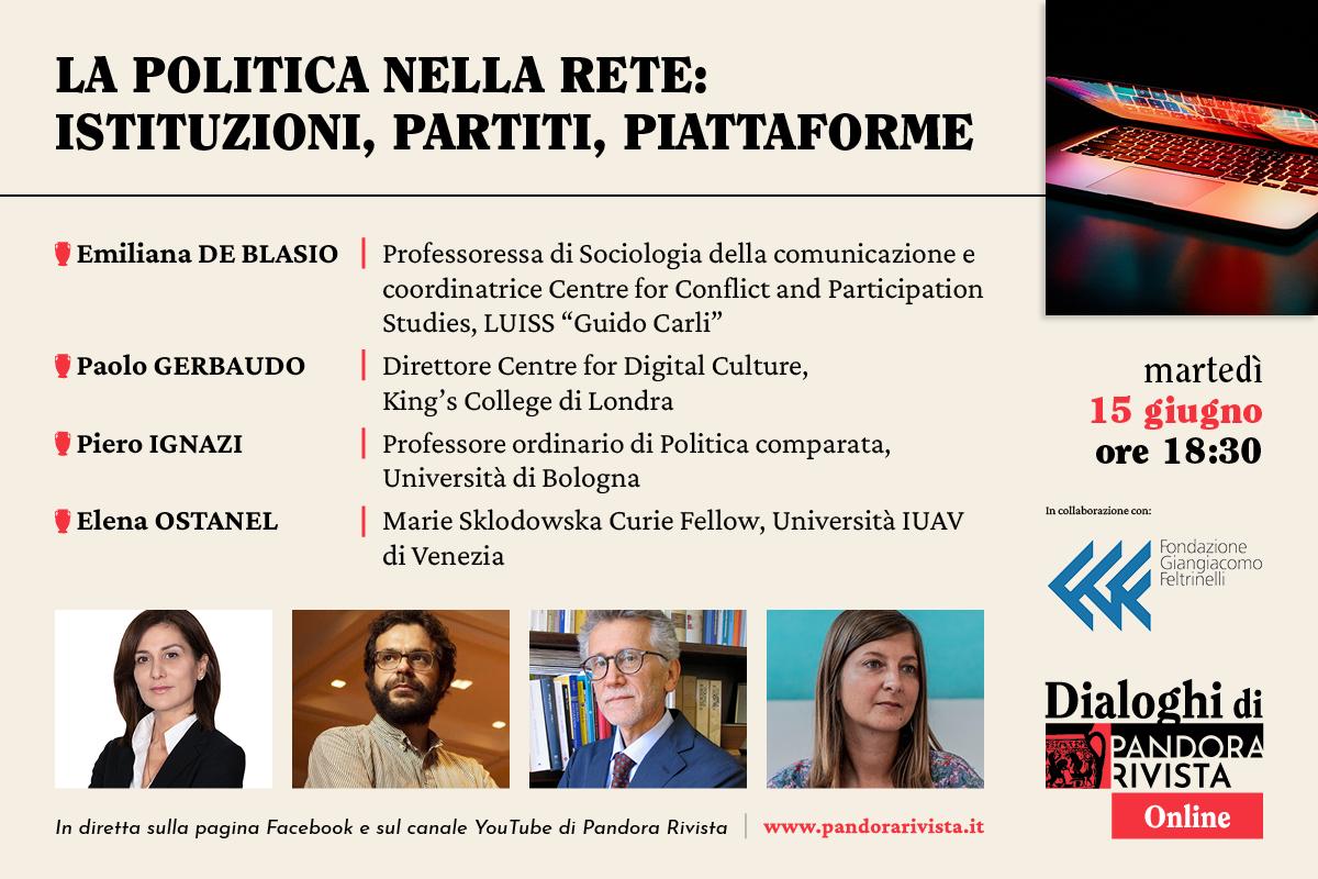 Dialoghi con De Blasio, Gerbaudo, Ignazi e Ostanel